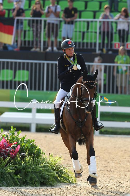 Jung Michael, GER, La Biosthetique Sam FBW<br /> Olympic Games Rio 2016<br /> © Hippo Foto - Astrid Appels<br /> 09/08/16