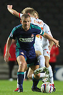 Picture by David Horn/Focus Images Ltd +44 7545 970036.25/09/2012.Lee Cattermole, Captain of Sunderland during the Capital One Cup match at stadium:mk, Milton Keynes.