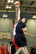UK - Tuesday, Nov 18 2008:  Tip off during Barking and Dagenham Erkenwald Basketball Club's Essex Basketball League game against Brightlingsea Sledgehammers. Erks won the game 91 - 86. (Photo by Peter Horrell / http://www.peterhorrell.com)
