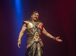 March 22, 2019 - Kolkata, West Bengal, India - Raavan ki Ramayan--a hindi drama based on the epic RAMAYANA of hindu mythology staged at kolkata on the occasion of sabhaghar theatre festival-2019 at GD BIRLA SABHAGHAR, CALCUTTA. (Credit Image: © Amlan Biswas/Pacific Press via ZUMA Wire)