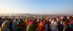 A spectacular display of color, kindness and culture takes place at the meeting points of the Ganges and Yamuna River's during the Kumbh Mela in Allahabad, India.
