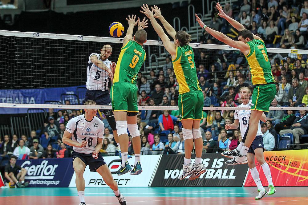 Australia looking to block Antti Siltala
