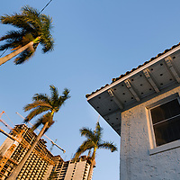 Vintage home before demolition at 19th street and Biscayne Blvd., Miami, Florida.  Image from a series called Paradise Lost, the changing face of Miami.
