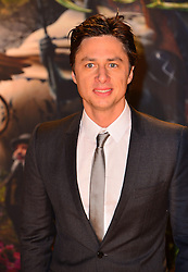 Zach Braff during The Great And Powerful Oz UK film premiere, Empire Leciester Square, London, United Kingdom, February 28, 2013. Photo by Nils Jorgensen / i-Images.