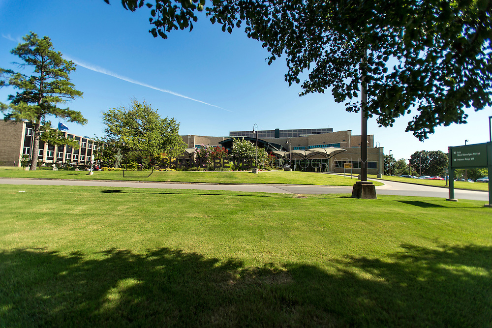 7/13/16 4:52:17 PM --  Muskogee campus exteriors of main campus and Main Street campus. <br /> <br /> Photo by Shane Bevel