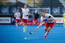 England's Ollie Willars. England v China - Hockey World League Semi Final, Lee Valley Hockey and Tennis Centre, London, United Kingdom on 15 June 2017. Photo: Simon Parker