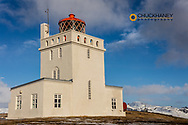Dyrholaey Lighthouse near Vik, Iceland