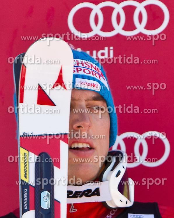 06.02.2011, Hannes-Trinkl-Strecke, Hinterstoder, AUT, FIS World Cup Ski Alpin, Men, Hinterstoder, Riesentorlauf, im Bild dritter Carlo Janka (SUI) // Carlo Janka (SUI) third Place during FIS World Cup Ski Alpin, Men, Giant Slalom in Hinterstoder, Austria, February 06, 2011, EXPA Pictures © 2011, PhotoCredit: EXPA/ J. Feichter