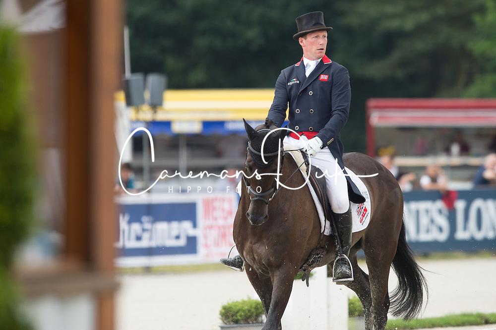 Townend Oliver, (GBR), Black Tie   <br /> Dressage - CCI4* Luhmuhlen 2016<br /> © Hippo Foto - Jon Stroud<br /> 17/06/16