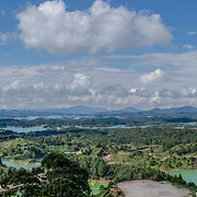 Panorama Guatape, Colombia (Format 6 x 1)