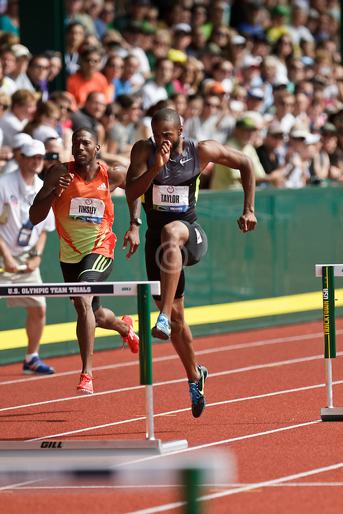 2012 USA Track & Field Olympic Trials: Angelo Taylor, 400 Hurdles