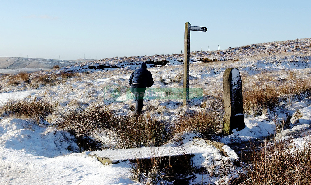 Snow covers Saddleworth Moor, after Moors murderer Ian Brady said he would return to the moor to help try and find the body of Keith Bennett. Police chiefs today hinted they would be willing to take Moors murderer Ian Brady back to the scene of his  crimes to find the body of his last missing victim, after Brady allegedly wrote to the family of Keith Bennett, who was killed on Saddleworth Moors in 1964, to offer his help in finding the body.