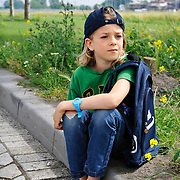June 12, 2016 - 15:57<br /> The Netherlands, Amsterdam - Noah, 9 years old