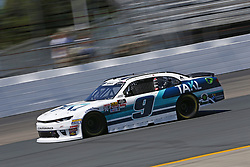July 20, 2018 - Loudon, New Hampshire, United States of America - Tyler Reddick (9) takes to the track to practice for the Lakes Region 200 at New Hampshire Motor Speedway in Loudon, New Hampshire. (Credit Image: © Justin R. Noe Asp Inc/ASP via ZUMA Wire)