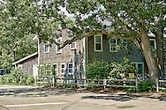 Tabernacle House at Oak Bluffs Martha's Vineyard,Massachusetts.