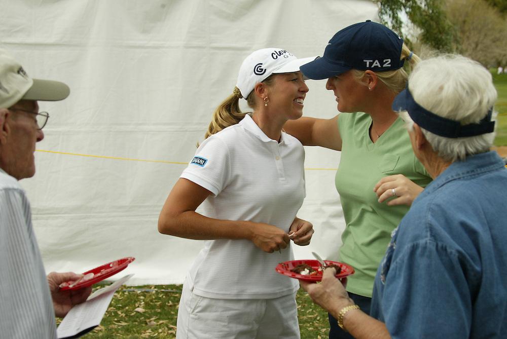 Beth Bauer..LPGA Welch's Fry's Championship Round 3..Dell Urich GC at Randolph Park..Tucson, AZ..March 15, 2003..Photograph by Darren Carroll ..X67922, Take 2
