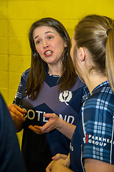 Pictured: Aileen Campbell<br /> Aileen Campbell MSP (Minister for Public Health and Sport) joined Abbi Aitken (Scotland captain) Steve Knox (Scotland women's coach), Nicola Wilson (CS women's participation manager) and Oli Rae (opener for Edinburgh and Scotland) today at Edinburgh' Fettes College to promote women's cricket ahead of the national team's trip to Sri Lanka for the ICC Women's World Cup Qualifier (in Sri Lanka) on 29 January. <br /> Ger Harley   EEm 24 January 2017