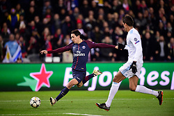 March 6, 2018 - Paris, U.S. - DI MARIA Angel (PSG)  during the Champions League match Real Madrid at Paris Saint-Germain on March 6, 2018 in Paris, France. (Photo by JB Autissier/Panoramic/Icon Sportswire) ****NO AGENTS---NORTH AND SOUTH AMERICA SALES ONLY****NO AGENTS---NORTH AND SOUTH AMERICA SALES ONLY* (Credit Image: © Jb Autissier/Icon SMI via ZUMA Press)