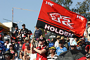 Holden Racing Team Fan at the Queensland House and Land.com 300 held at the Queensland Raceway,  Ipswich, Queensland on Sunday 23rd August. 2009 V8 Supercar Series Round 8. Photo © Clay Cross/PHOTOSPORT