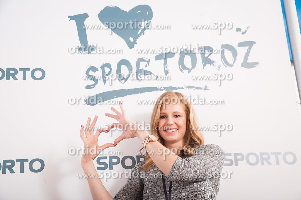 Maja Mihalinec during Sports marketing and sponsorship conference Sporto 2015, on November 19, 2015 in Hotel Slovenija, Congress centre, Portoroz / Portorose, Slovenia. Photo by Vid Ponikvar / Sportida