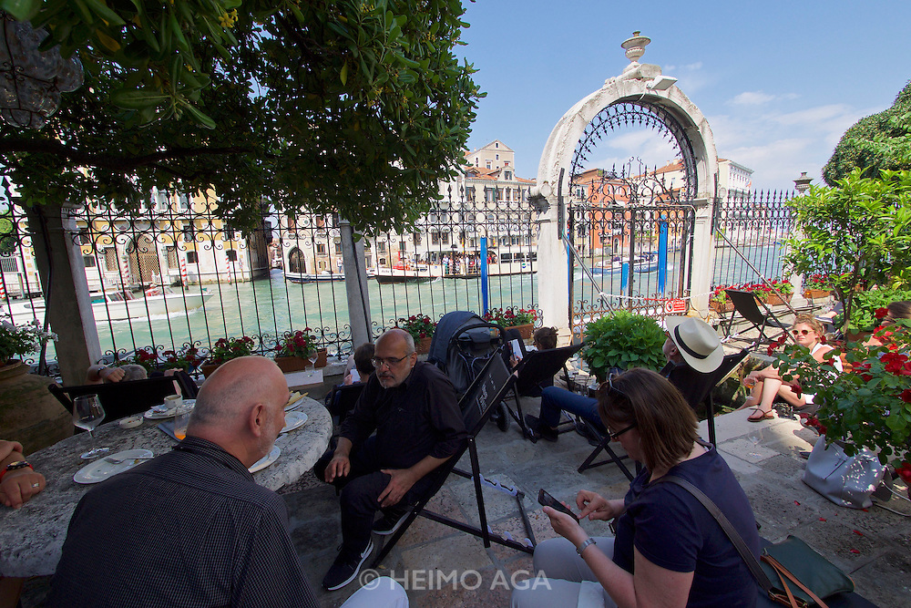 Venice, Italy - 15th Architecture Biennale 2016, &quot;Reporting from the Front&quot;.<br /> Ber&uuml;hrungspunkte.de - meeting point for architects.