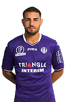 Andy Delort during Photoshooting of Toulouse for new season 2017/2018 on September 29, 2017 in Bordeaux, France. <br /> Photo : TFC / Icon Sport