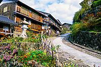 Magome, Kiso Valley, Nagano Prefecture, Japan