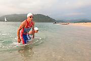Swimmers,Portobelo Extreme Triathlon,Colon Province,Panama C.A.