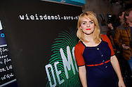 AMSTERDAM - In het ketelhuis is de perspresentatie gehouden van het nieuwe seizoen 'Wie Is De Mol 2014'. Met hier op de foto  Sofie van den Enk (Zwanger). FOTO LEVIN DEN BOER - PERSFOTO.NU