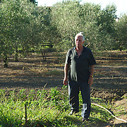 Cosimo, one of the few people that are still cultivating their land.
