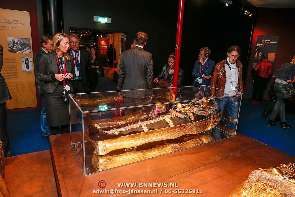 NLD/Amsterdam/20121128 - Opening expositie Toetanchamon, tentoonstelling
