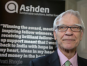 Max Fordham at the The 2015 Ashden Awards ceremony held at the Royal Geographical Society, London. UK.