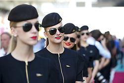 November 26, 2017 - Abu Dhabi, United Arab Emirates - Motorsports: FIA Formula One World Championship 2017, Grand Prix of Abu Dhabi, .. grid girls  (Credit Image: © Hoch Zwei via ZUMA Wire)