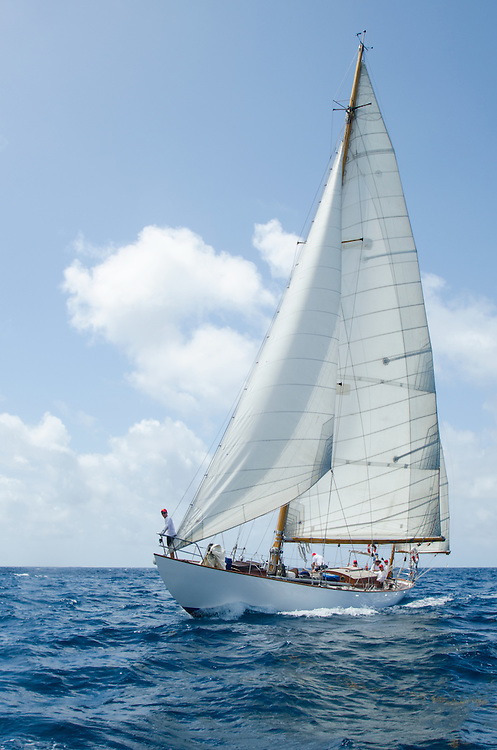 Back in the 60s, classic yachts, which were gathered in English Harbour Antigua, had begun chartering and the captains and crews challenged each other to a race down to Guadeloupe and back to celebrate the end of the charter season. From this informal race, Antigua Race Week was formalised in 1967, and in those days all of the yachts were classics. As the years grew on, the classic yachts were slowly outnumbered but the faster sleeker modern racing yachts and 24 years later the Classic Class had diminished to a few boats and was abandoned in 1987. However this same year seven classic yachts turned out and were placed in Cruising Class 3 with the bare boats. The class was so unmatched that it was downright dangerous, so Captain Uli Pruesse hosted a meeting onboard Aschanti of Saba with several classic skippers and in 1988 the Antigua Classic Yacht Regatta was born, with seven boats.<br /> <br /> In 1991, Elizabeth Meyer brought her newly refitted Endeavour and Baron Edmond Rothschild brought his 6-meter Spirit of St Kitts and &ldquo;CSR&rdquo; became the first Sponsor and inaugurated the Concours d&rsquo;El&eacute;gance. In 1996 we created the &ldquo;Spirit of Tradition Class&rdquo;, which has now been accepted all over the world, which gives the &ldquo;new&rdquo; classics, built along the lines of the old, a chance to sail alongside their sister ships. In 1999 we celebrated the first race between the J class yachts in 60 years. Mount Gay Rum has sponsored the Regatta for many years, and we have recently added Officine Panerai as our first ever Platinum Sponsor.<br /> <br /> The Antigua Classic Yacht Regatta has maintained a steady growth, hosting between 50 and 60 yachts every year and enjoys a wonderful variety of competitors, including traditional craft from the islands, classic ketches, sloops, schooners and yawls making the bulk of the fleet, together with the stunningly beautiful Spirit of Tradition yachts, J Class yachts and Tall Ships.