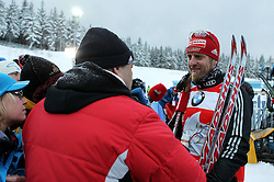 30.12.2011, DKB-Ski-ARENA, Oberhof, GER, Viessmann FIS Tour de Ski 2011, Pursuit/ Verfolgung Herren im Bild Axel Teichmann (GER) im Interview . // during of Viessmann FIS Tour de Ski 2011, in Oberhof, GERMANY, 2011/12/30 .. EXPA Pictures © 2011, PhotoCredit: EXPA/ nph/ Hessland..***** ATTENTION - OUT OF GER, CRO *****