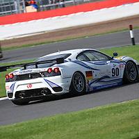 #90 Ferrari F430 GTC - Farnbacher Racing (Drivers - Pierre Ehret, Pierre Kaffer and Anthony Beltoise) GT2, Le Mans Series Silverstone 1000KM 2008