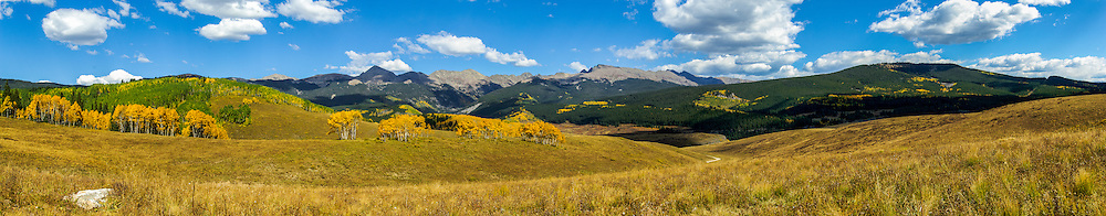 Autumn, looking towards Holy Cross Wilderness; Sawatch Range, Colorado