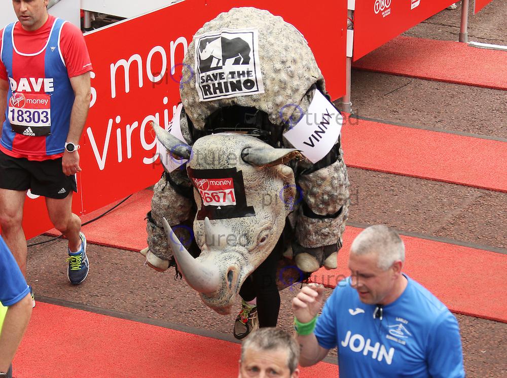 Vincent O'Neill, Virgin Money London Marathon, London UK, 24 April 2016, Photo by Brett D. Cove