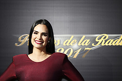 HOLLYWOOD, CA - NOVEMBER 09: Scarlet Ortiz attends the 18th edition of 'Los Premios de la Radio' held at the Dolby Theater on November 09, 2017 in Los Angeles, California. Byline, credit, TV usage, web usage or linkback must read SILVEXPHOTO.COM. Failure to byline correctly will incur double the agreed fee. Tel: +1 714 504 6870.