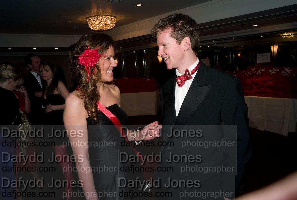 ANTONIA BROWN; MARK HADEN. The 30th White Knights charity  Ball.  Grosvenor House Hotel. Park Lane. London. 10 January 2009