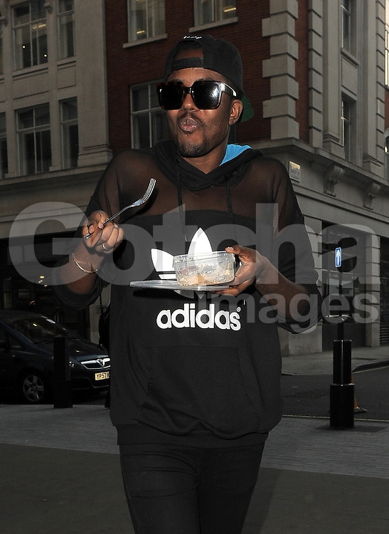 TOWIE star Vas J Morgan arriving at BBC Radio 1 in central London, UK. 03/10/2014<br />BYLINE MUST READ : GOTCHAIMAGES.COM<br /><br />Copyright by &copy; Gotcha Images Ltd. All rights reserved.<br />Usage of this image is conditional upon the acceptance <br />of Gotcha Images Ltd, terms and conditions available at<br />www.gotchaimages.com