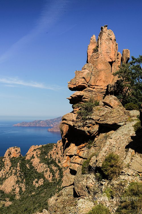 Piana, the scenic cliffs of the Calanches.