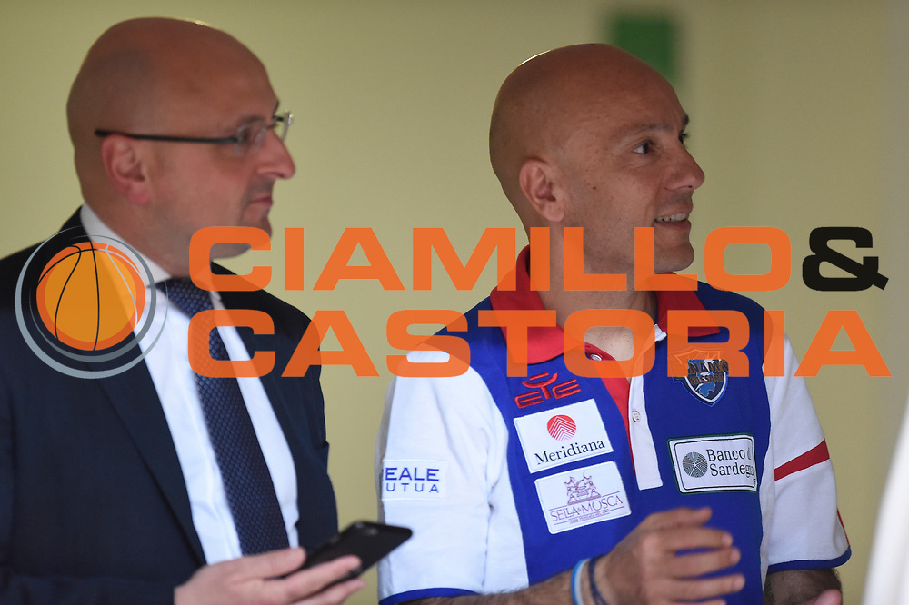 Baioni Giacomo, Sardara Stefano<br /> Quarti diFinale Gara 2<br /> Legabasket A 2016,2017<br /> Trento 14,05,2017<br /> Foto Ciamillo-Castoria,GiulioCiamillo