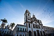 Recife_PE, Brasil..Igreja de Nossa Senhora do Carmo em Recife, Pernambuco..Nossa Senhora do Carmo Church in Recife, Pernambuco..Foto: JOAO MARCOS ROSA / NITRO