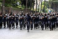 Rome  June 2  2006.Republic Day.GIS  march during the military parade .Special Intervention Group  of the Carabinieri.<br /> GIS<br /> Gruppo di Intervento Speciale dei Carabinieri