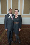 Roxanne Male'- Brune President Roderick McDavis