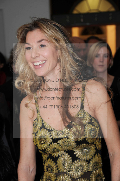STASHA PALOS at a reception to launch the Saatchi Opus held at the Saatchi Gallery, King's Road, London on 26th November 2009.