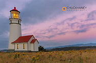 Oregon's oldest lighthouse at Cape Blanco State Park, Oregon USA