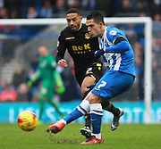 Brighton central midfielder Beram Kayal during the Sky Bet Championship match between Brighton and Hove Albion and Bolton Wanderers at the American Express Community Stadium, Brighton and Hove, England on 13 February 2016. Photo by Bennett Dean.
