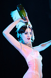 © under license to London News Pictures. 09/02/2011. Burlesque performers appearing at the London Burlesque Festival - Legends of the stage tribute & international golden gala on Saturday 30 April at the Coronet, Elephant & Castle, London. Picture credit should read: Kevin Dunnett / London New Pictures
